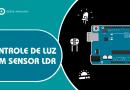 Controle de luz com sensor LDR e Arduno